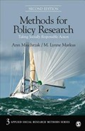 Methods for Policy Research   Ann Majchrzak ; M. Lynne Markus  