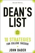 Dean's List   Bader, John (executive Director, Fulbright Association)  