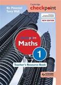 Cambridge Checkpoint Maths Teacher's Resource Book 1   Wall, Terry ; Pimentel, Ric  