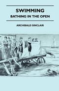 Swimming - Bathing In The Open   Archibald Sinclair  