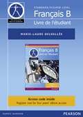 Pearson Baccalaureate Francais B ebook only edition for the IB Diploma (etext) | Marie-Laure Delvallee |