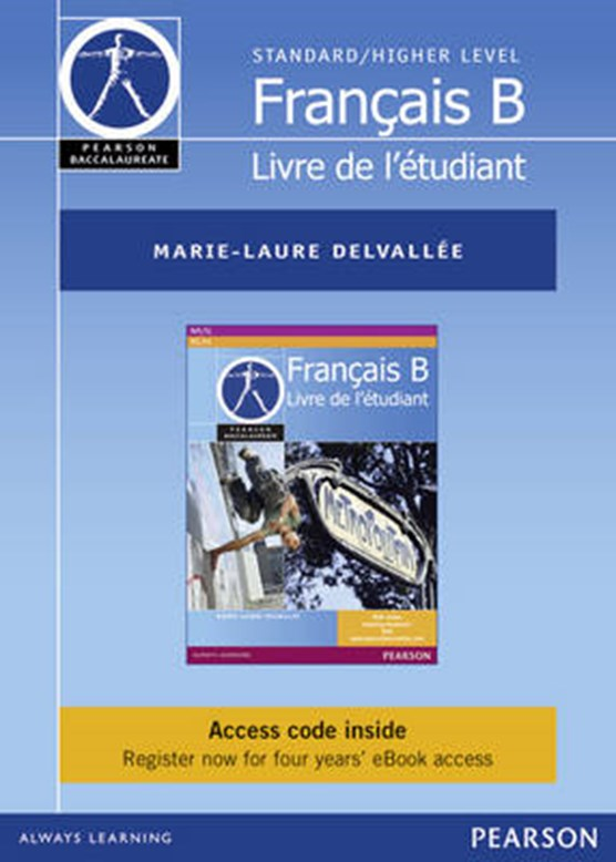 Pearson Baccalaureate Francais B ebook only edition for the IB Diploma (etext)