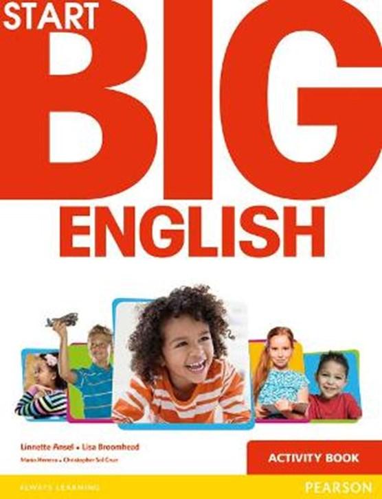 Start Big English Activity Book
