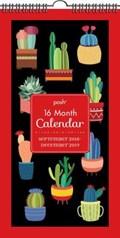 Posh: Succulents 16-Month 2018-2019 Fat Slim Wall Calendar | Andrews McMeel Publishing |