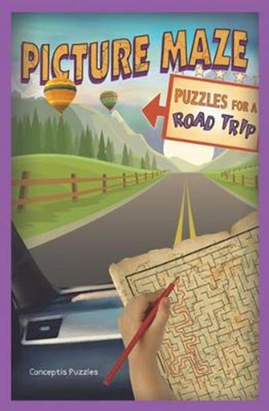 Picture Maze Puzzles for a Road Trip