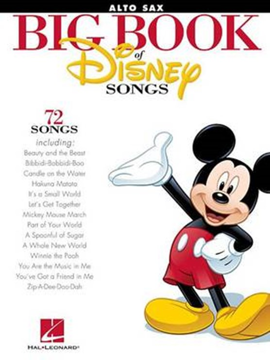 The Big Book of Disney Songs (Alto Sax)