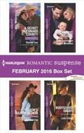 Harlequin Romantic Suspense February 2016 Box Set | Rachel Lee ; Addison Fox ; Beth Cornelison ; Karen Whiddon ; Lisa Childs |