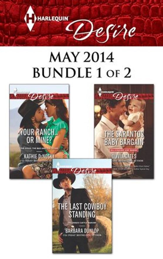 Harlequin Desire May 2014 - Bundle 1 of 2