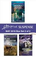 Harlequin Love Inspired Suspense May 2016 - Box Set 2 of 2 | Susan Sleeman ; Alison Stone ; Michelle Karl |