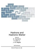 Hadrons and Hadronic Matter   Dominique Vautherin ; F. Lenz ; J. W. Negele  