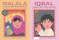 Malala, a Brave Girl from Pakistan/Iqbal, a Brave Boy from Pakistan | Jeanette Winter |