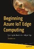 Beginning Azure IoT Edge Computing   David Jensen  
