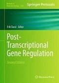 Post-Transcriptional Gene Regulation | Erik Dassi |