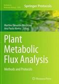 Plant Metabolic Flux Analysis   Martine Dieuaide-Noubhani ; Ana Paula Alonso  