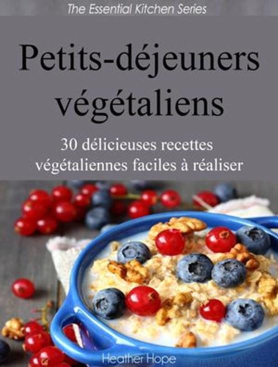 Petits-déjeuners végétaliens