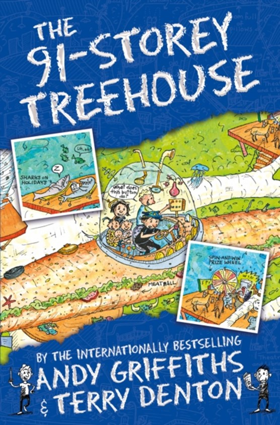 Treehouse books (07): 91-storey treehouse