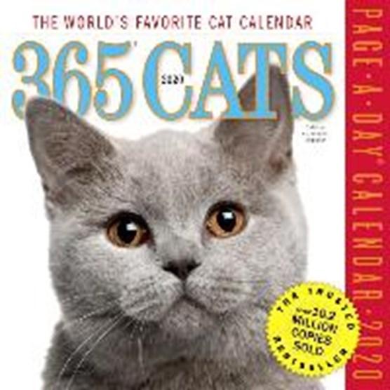 2020 365 Cats Colour Page-A-Day Calendar