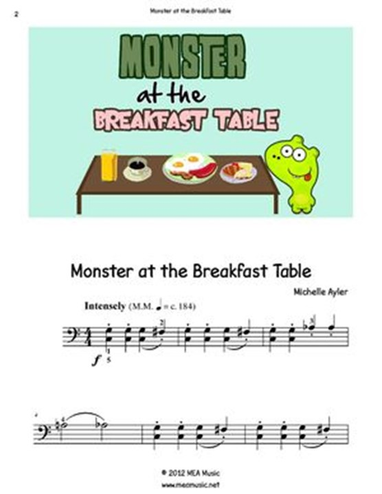 Monster at the Breakfast Table