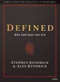 Defined - Teen Guys Bible Study Book | Kendrick, Alex ; Kendrick, Stephen |