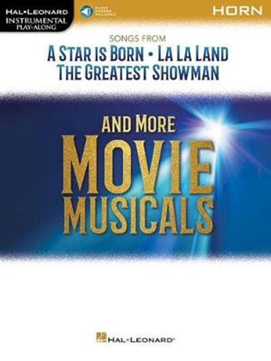 INSTRUMENTAL PLAYALONG SONGS FROM MOVIE MUSICALS HN BK/AUDIO