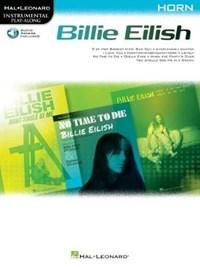 Billie Eilish Instrumental Play-Along Book/Online Audio for Horn: Horn Instrumental Play-Along Pack   Billie Eilish  
