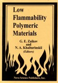 Low Flammability Polymeric Materials | G E Zaikov |