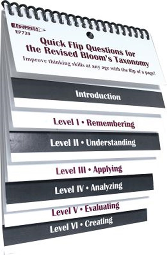Quick Flip Questions for the Revised Bloom Taxonomy