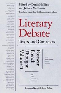 Literary Debate | auteur onbekend |