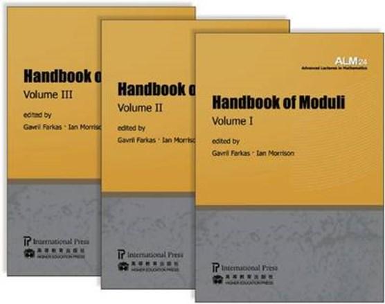 Handbook of Moduli