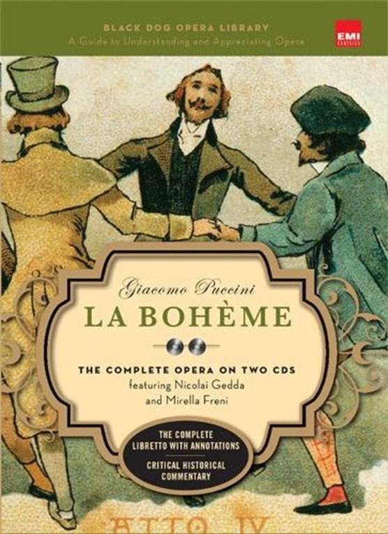 La Boheme (Book and CD's)