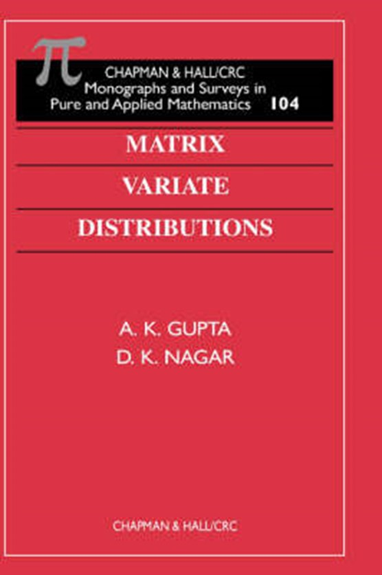 Matrix Variate Distributions
