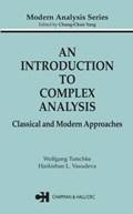 An Introduction to Complex Analysis | Wolfgang (graz University Of Technology, Austria) Tutschke ; Harkrishan L. (panjab University, Chandigarh, India) Vasudeva |