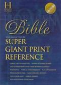 Super Giant Print Reference Bible-KJV | auteur onbekend |