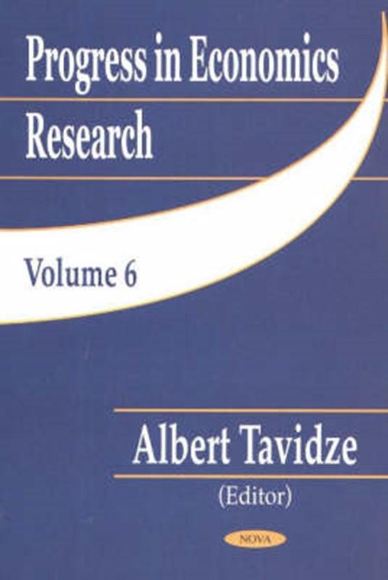 Progress in Economics, Volume 6