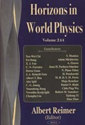 Horizons in World Physics, Volume 244 | Albert Reimer |