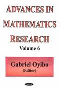 Advances in Mathematics Research | Gabriel Oyibo |