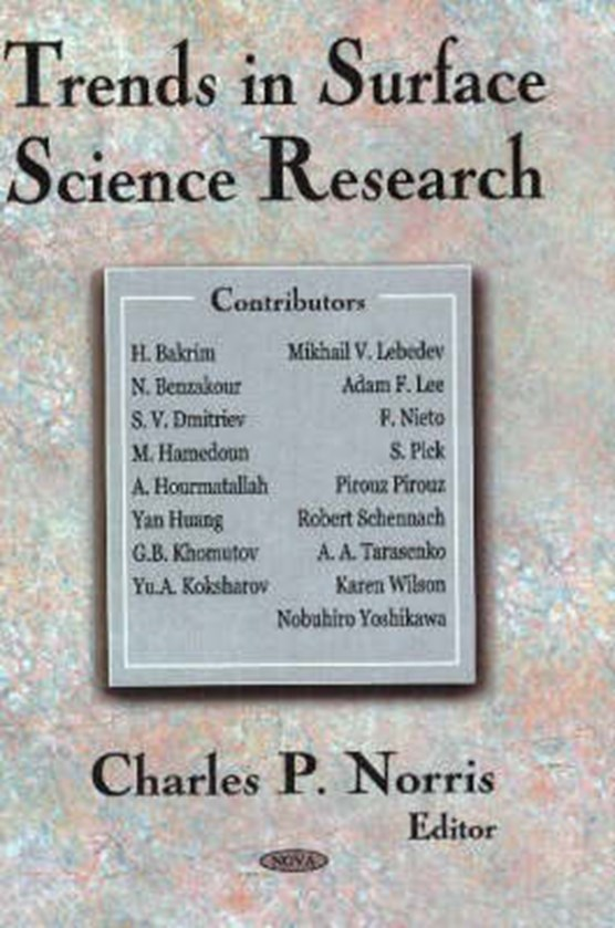 Trends in Surface Science Research