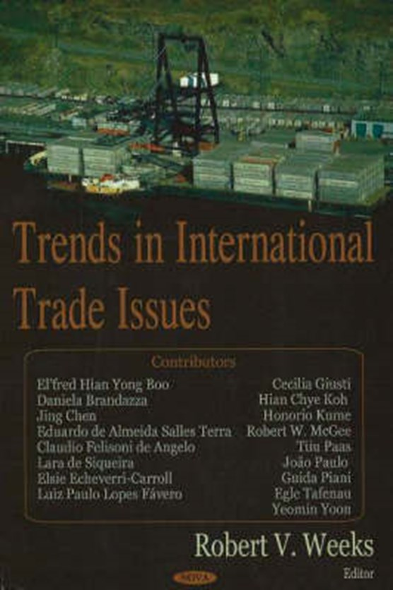 Trends in International Trade Issues