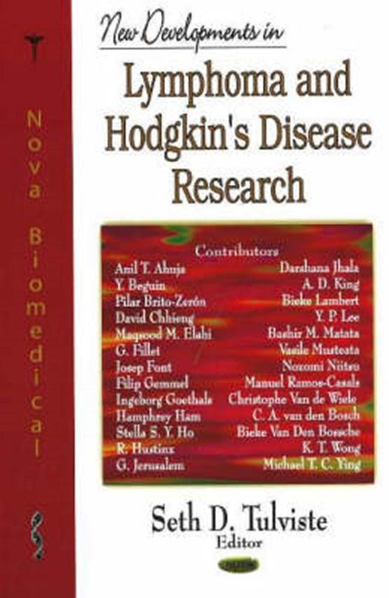New Developments in Lymphoma & Hodgkin's Disease Research