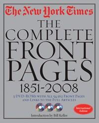New York Times Frontpages | auteur onbekend |