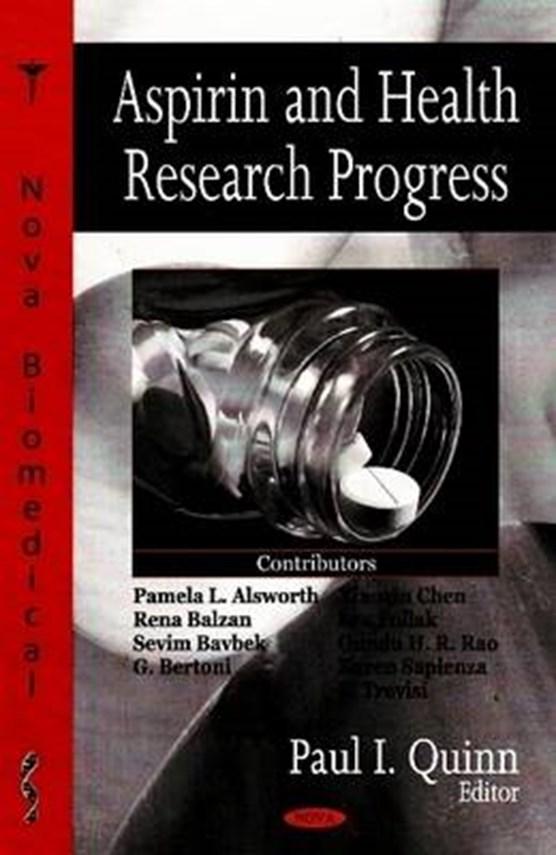 Aspirin & Health Research Progress