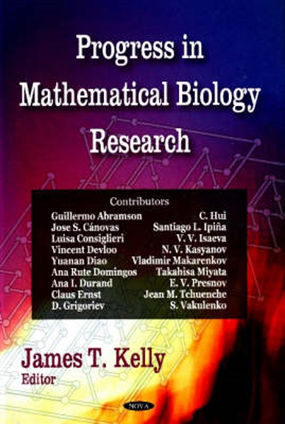Progress in Mathematical Biology Research