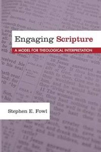 Engaging Scripture | Stephen E. Fowl |