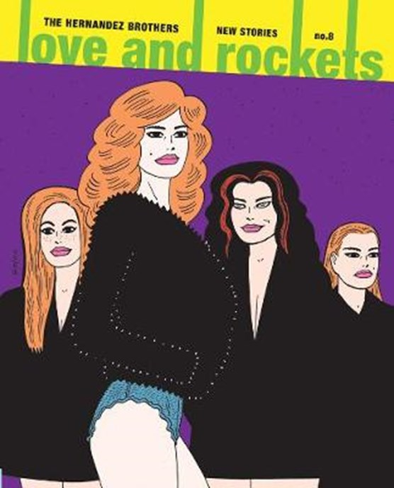 Love and rockets: new stories (08)
