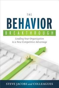Behavior Breakthrough   Steve Jacobs  