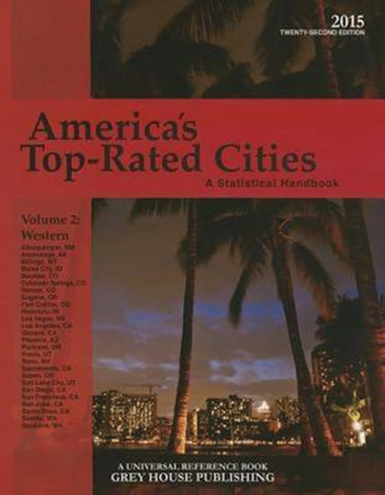 America's Top-Rated Cities, Volume 2 West, 2015