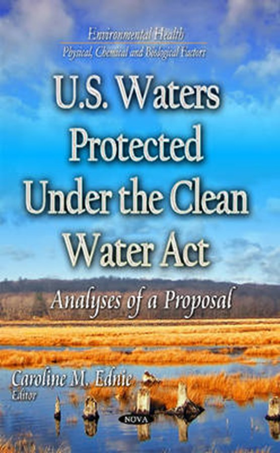 U.S. Waters Protected Under the Clean Water Act