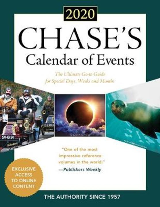 Chase's Calendar of Events 2020