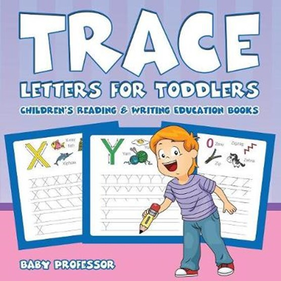 Trace Letters for Toddlers