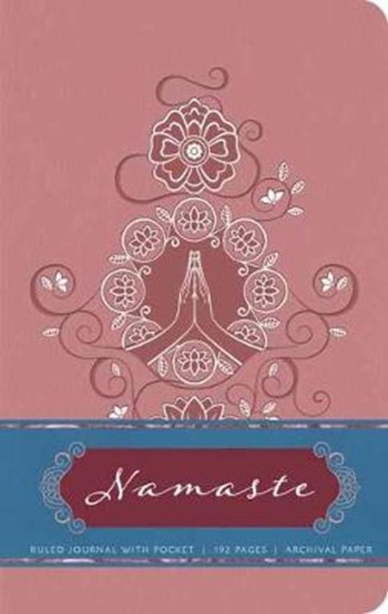 Namaste Hardcover Ruled Journal